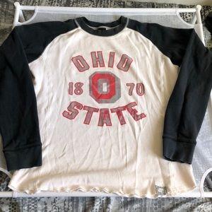 Nike Ohio State Buckeyes Thermal Long Sleeve Shirt
